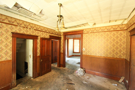 Fire and Water Damaged Home Restoration