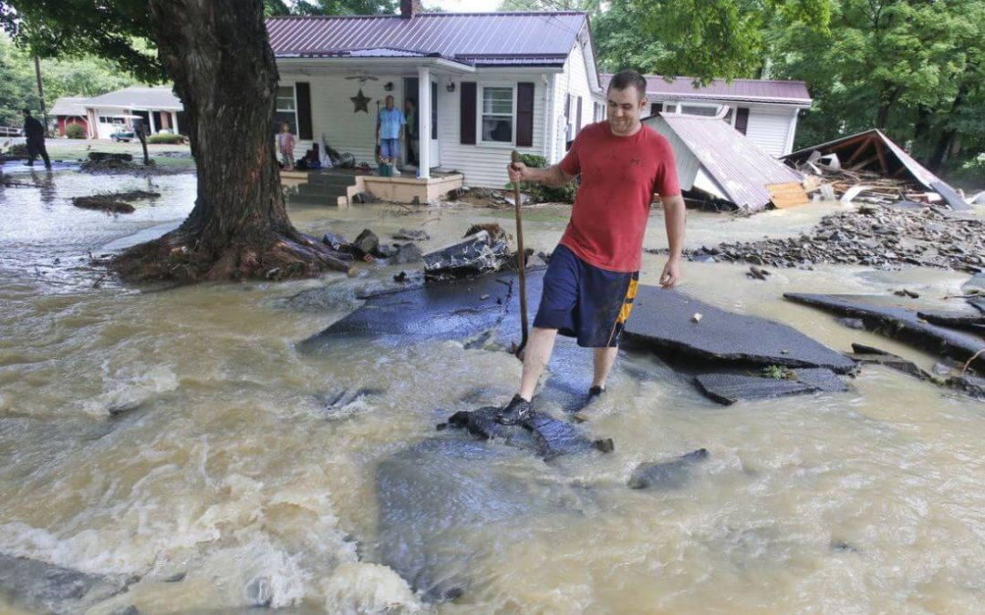 SEVERE FLOODING to Continue Throughout Week From OHIO To TEXAS
